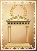 Antique Greek Background