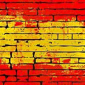 Spanish Brick Wall Background