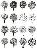Wood tree7