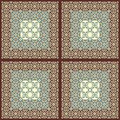 vector seamless eastern style pattern