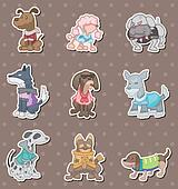 dog pet stickers