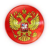 Russian coat of arms - badge