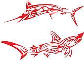 Tribal arts.