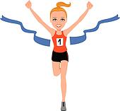 Finish Line Clip Art - Royalty Free - GoGraph