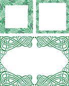 Celtic ornament borders