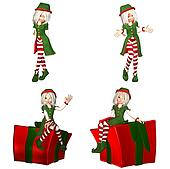Christmas Elf Pack - 1of6