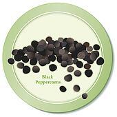 Black Peppercorns Icon