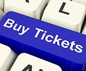Buy Tickets Computer Key Showing Concert Or Festival Admission P