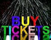 Buy Tickets Words With Fireworks Shows Concert Or Festival Admission Purchases