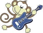 rock star monkey