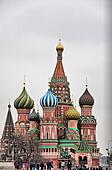 Saint Basil cathedral. Russia, Moscow.