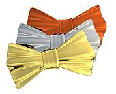 Bowtie Gold, Silver and Bronze, iso