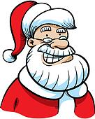Cartoon Santa