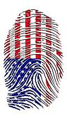 USA Fingerprint