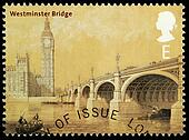 Bridges of London Postage Stamp