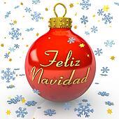 Christmas Tree Bauble - Feliz Navidad