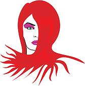 woman face - make-up & hairdressing