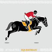 Athlete equestrian