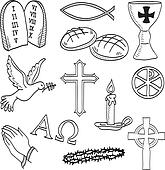 Jesus Hands Clip Art - Royalty Free - GoGraph