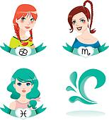 Water Zodiac Women