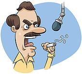 Angry Talk Radio DJ