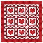 Love of Hearts Quilt