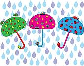happy umbrella set