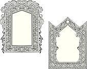 Two Art Nouveau Frames
