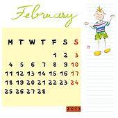 february 2013 kids