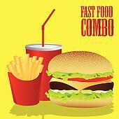 fast food combo