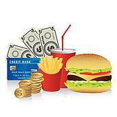 Cine fast food combo