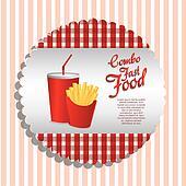 fast food label