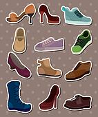 shoes stickers