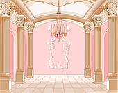 Ballroom of magic castle