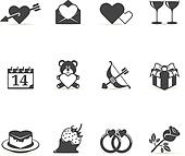 Single Color Icons - Love