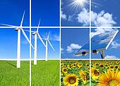 Composition of alternative energies