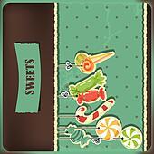 Sweets on strings.