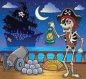 Pirate ship deck theme 7