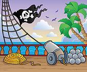 Pirate ship deck theme 1