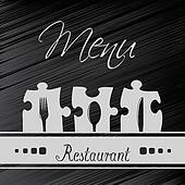 Vector restaurant menu design - template brochure