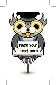 wise owl banner