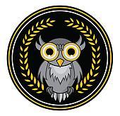 owl Mascot wreath