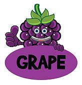 Smile Grape Banner
