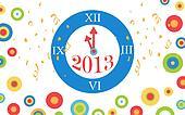 2013 new year countdown