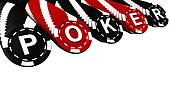 Poker Chips Rows