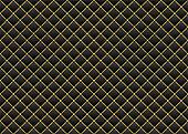 Leather black & gold background