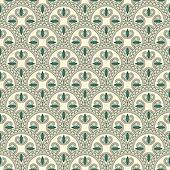 vector seamless pattern, oriental style