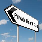 Private Healthcare concept.
