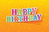 Colorful Happy Birthday