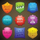Colorful Selling Badge